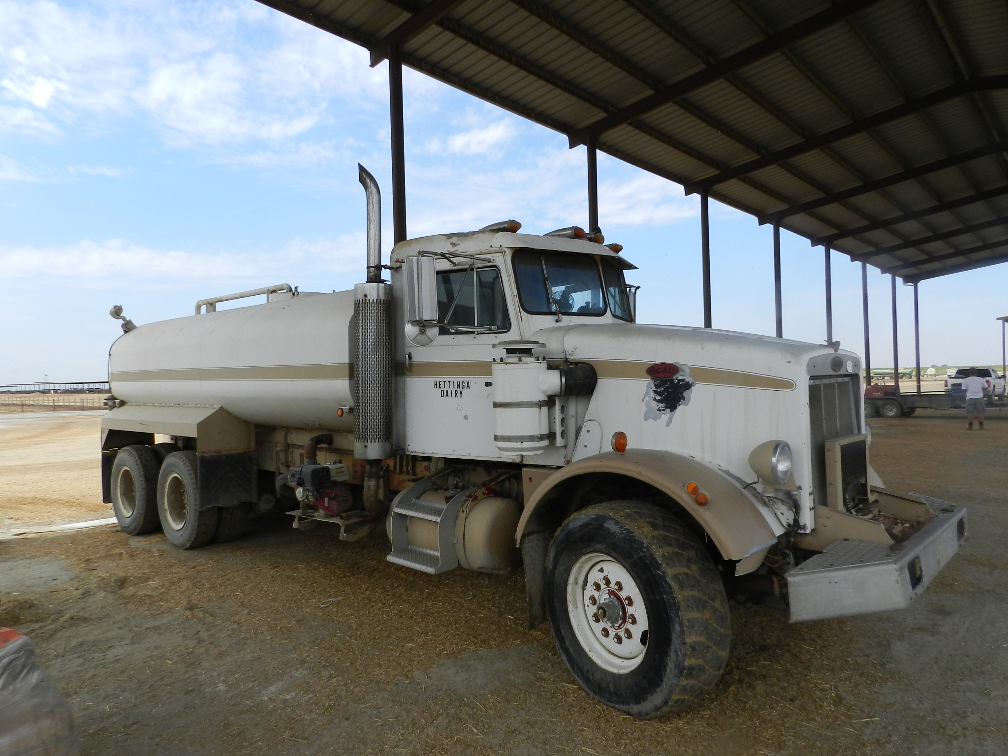 Overland Stockyard Hanford Ca Cattle Auctions Dairy Dispersals 1971 Ford Dump Truck 150 L8000 Vin 43793 118000 Miles
